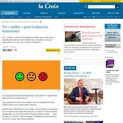 LA CROIX 09/09/14 Un « smiley » pour évaluer les restaurants