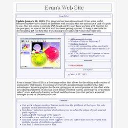 Evan's Freeware Site