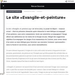 Le site «Evangile-et-peinture» - Revue Sources