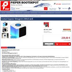 Ecomat Evapolar Klimagerät 230Volt weiß - PIEPER Bootdepot