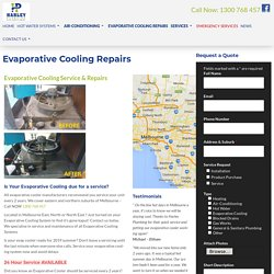 Evaporative Cooling Repair, Service - □ Best Evaporative Cooling Melbourne □