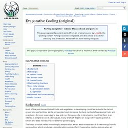 Evaporative Cooling (original)