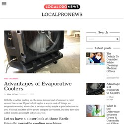 8 Best Advantages of Evaporative Coolers