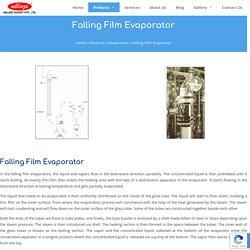 Falling Film Evaporator Manufacturer & Supplier in India