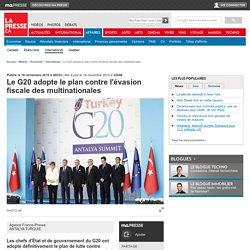 Le G20 adopte le plan contre l'évasion fiscale des multinationales