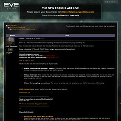 EVE Online | EVE Insider | Forums