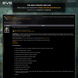 EVE Online | EVE Insider | Forums | Missions & Complexes | [Sofware] EveRefinery - Make money from your loot