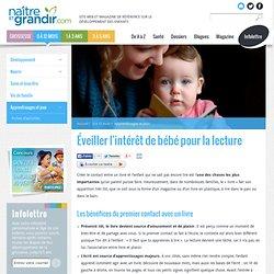 Éveiller l'intérêt de bébé pour la lecture