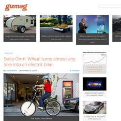 Evelo Omni Wheel turns almost any bike into an electric bike