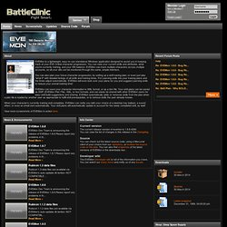 EVEMon - BattleClinic - MMO guides - tools - advice - forums