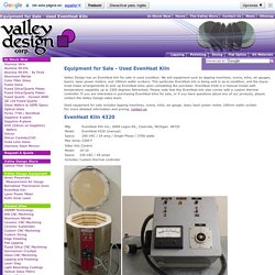 Even Heat Kiln Equipment for Sale