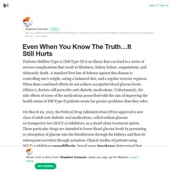 Even When You Know The Truth…It Still Hurts – Stephen Conover – Medium