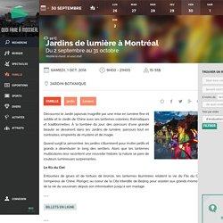 Événements et Activités à Montréal et dans les environs