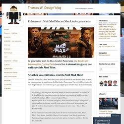 Evénement : Nuit Mad Max au Max Linder panorama
