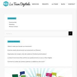 Événement et réseaux sociaux : privilégier l'attention La Team Digitale