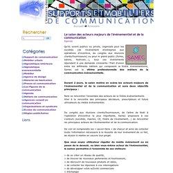 Le salon des acteurs majeurs de l'évènementiel et de la communication - Les news support communication