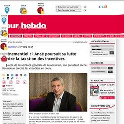 Evénementiel : l'Anaé poursuit sa lutte contre la taxation des incentives