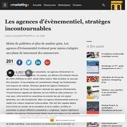 Les agences d'évènementiel, stratèges incontournables - Le point sur - Métier