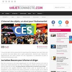 L'Internet des objets, un atout pour l'événementiel