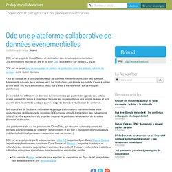 Ode une plateforme collaborative de données évènementielles