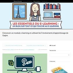 Les 9 événements d'apprentissage de Gagne