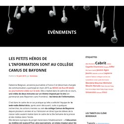 Blog académique (Bordeaux) de la Classe radio