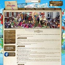 Les événements en Louisiane - Site officiel de l'Office du Tourisme