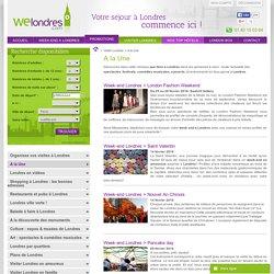 Evénements à ne pas manquer - Que faire à Londres - Welondres.com