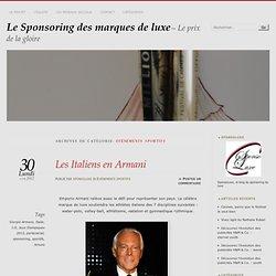 Evènements sportifs « Le Sponsoring des marques de luxe