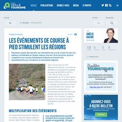 Événements de course stimulent les régions - Veilletourisme.ca