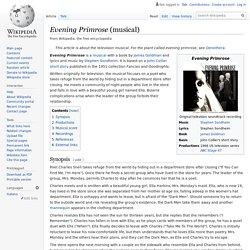 Evening Primrose (musical)