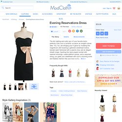 Evening Reservations Dress | Mod Retro Vintage Dresses
