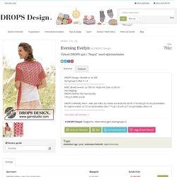 """Evening Evelyn / DROPS 170-38 - Virkad DROPS sjal i """"Nepal"""" med stjärnmönster. - Free pattern by DROPS Design"""