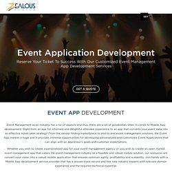 Conference App Development