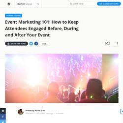 Event Marketing on Social Media: How to Make Your Event Stand Out
