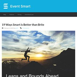 Eventbrite Alternatives - 19 ways Smart is better than Brite
