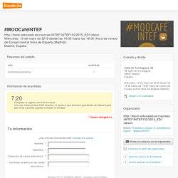Eventbrite - #MOOCaféINTEF
