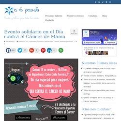 Evento solidario en el Día contra el Cáncer de Mama