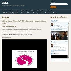 Events - CDNLCDNL
