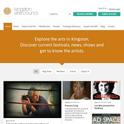 Events - Kingston Arts Council