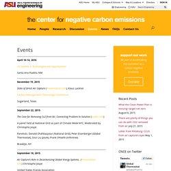 Events – Center for Negative Carbon Emissions