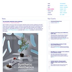News + Events - Synthetic Aesthetics