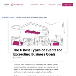 Types of Events: The Ultimate Guide with Examples