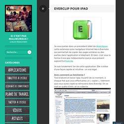 Everclip pour iPad