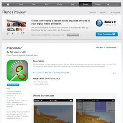 EverClipper - edit photo & send to evernote