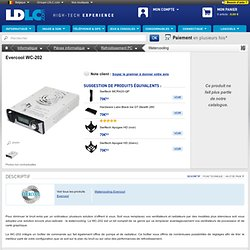 Evercool WC-202 (WC-202) : achat / vente Watercooling sur ldlc