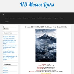 Everest (2015) BRRip 720P Dual Audio Hindi-English ESubs