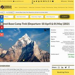Everest Base Camp Trek - (Departure-10 April, 01Mayl )2021