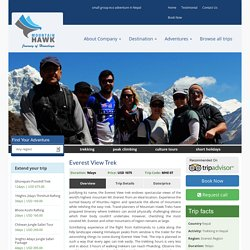 Everest Trekking – Short Trekking in Nepal
