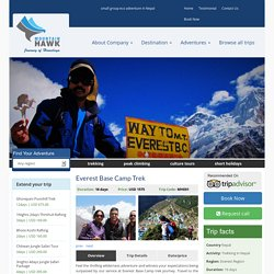 Everest Base Camp Trek 16 Days - Mountain Hawk Trek